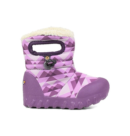 Bogs Kids' B-MOC Purple Mountain Snow Boots