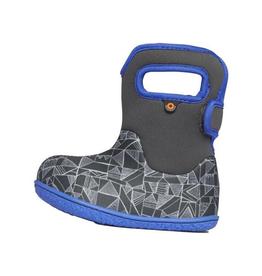 Bogs Baby Bogs Grey Maze Geo Waterproof Boots