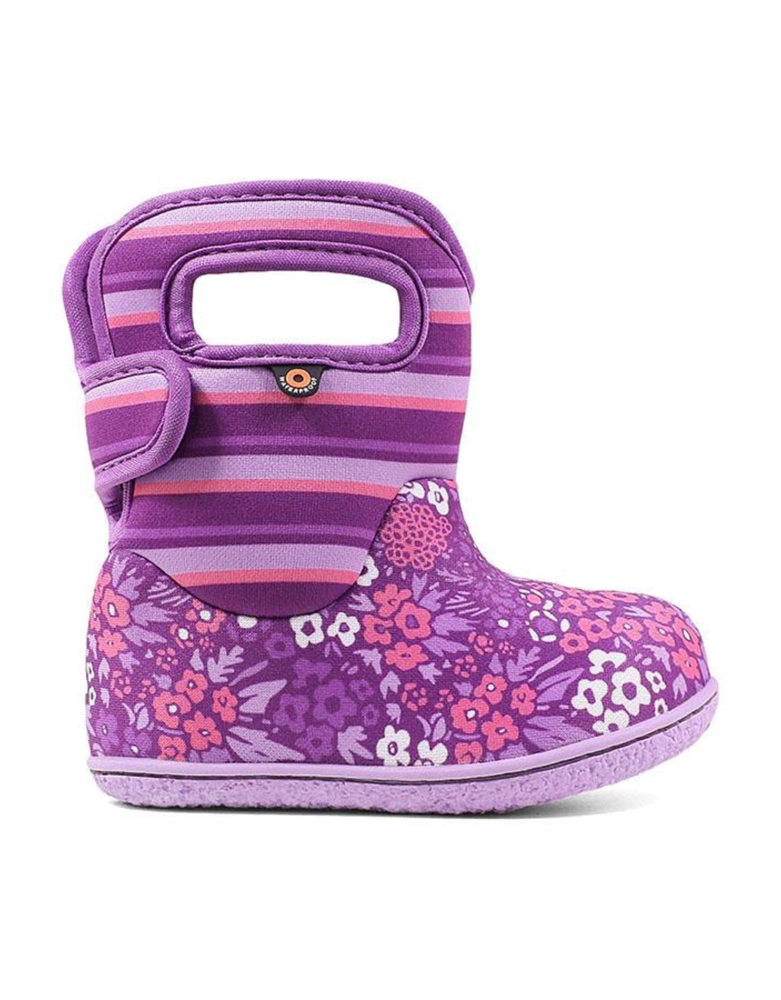 Bogs Baby Bogs NW Garden Purple Waterproof Boots