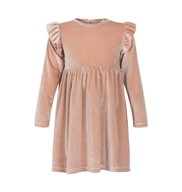 Creamie Velvet Dress for Girls