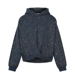 Creamie Gold Print Sweatshirt for Girls
