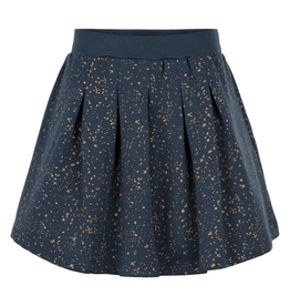 Creamie Gold Print Sweat Skirt for Girls