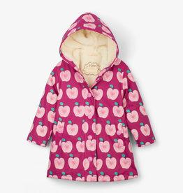 Hatley Apple Orchard Sherpa Lined Splash Jacket for Girl