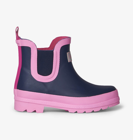 Hatley Navy Ankle Rain Booties for Girl