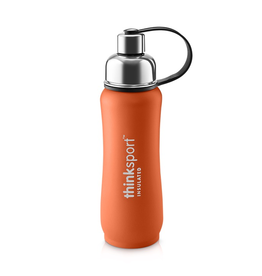 Thinksport Insulated Stainless Sports Bottle, Powdered coated, 17oz