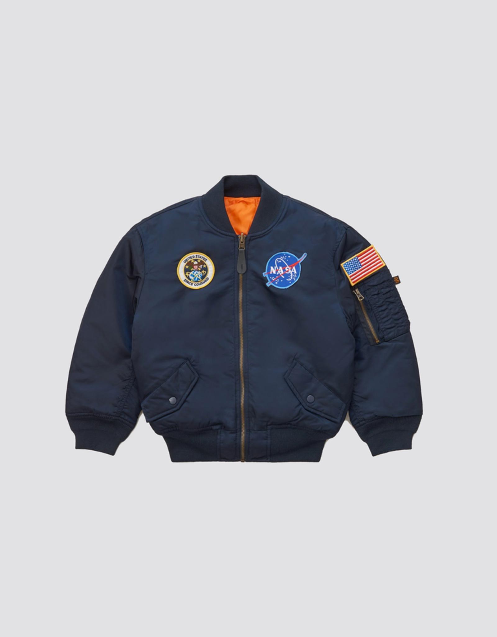 Alpha Industries Youth Nasa MA-1 Bomber Jacket