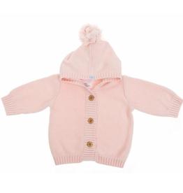 Beba Bean Pom Pom Knit Hoodie for Baby