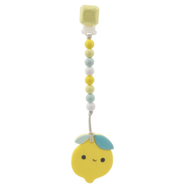 Loulou Lollipop Lemon Silicone Teether Set