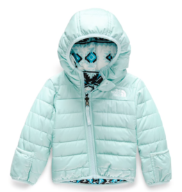 The North Face Girls' Infant Reversible Perrito Jacket in Windmill Blue