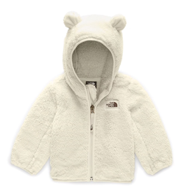 The North Face Infant Campshire Bear Hoodie in Vintage White