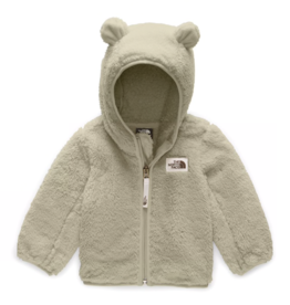 The North Face Infant Campshire Bear Hoodie in Crockery Beige