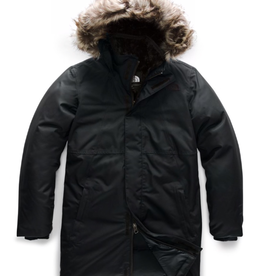 The North Face Girls' Arctic Swirl Down Jacket in TNF Black