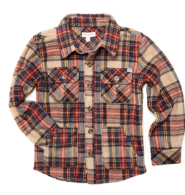 Appaman Snow Fleece Shirt for Boys