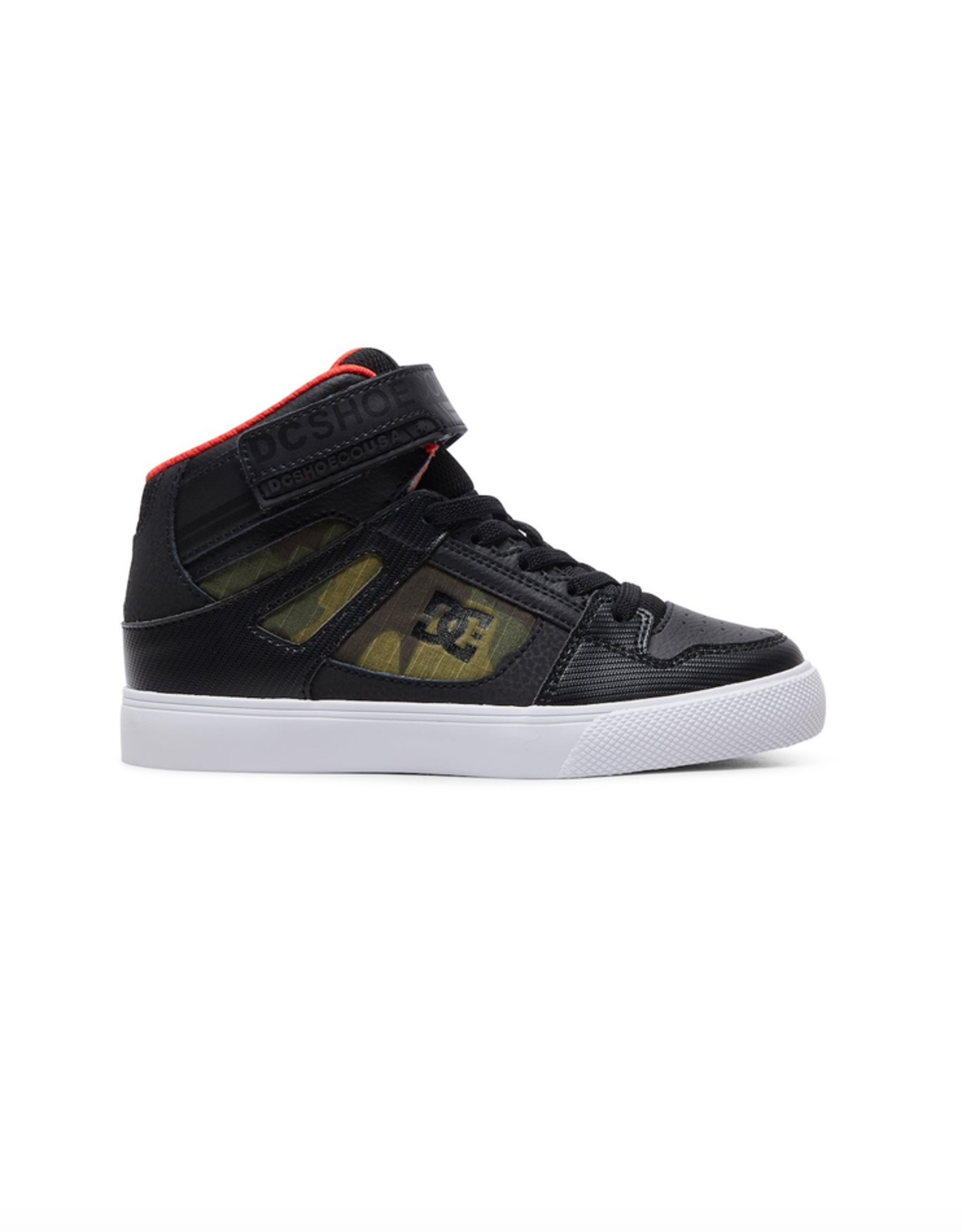DC Shoes Kid's Pure Hi SE - High-Top Shoes in Camo