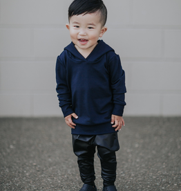 Posh & Cozy Midnight Bolt Hoodie For Boy