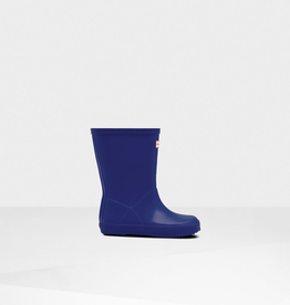Hunter Boots Kids First Classic Rain Boots in Electric Blue
