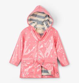 Hatley Metallic Stars Raincoat for Girl