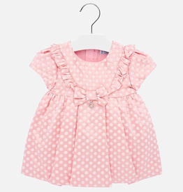 Mayoral Jacquard Dots Dress for Baby Girl