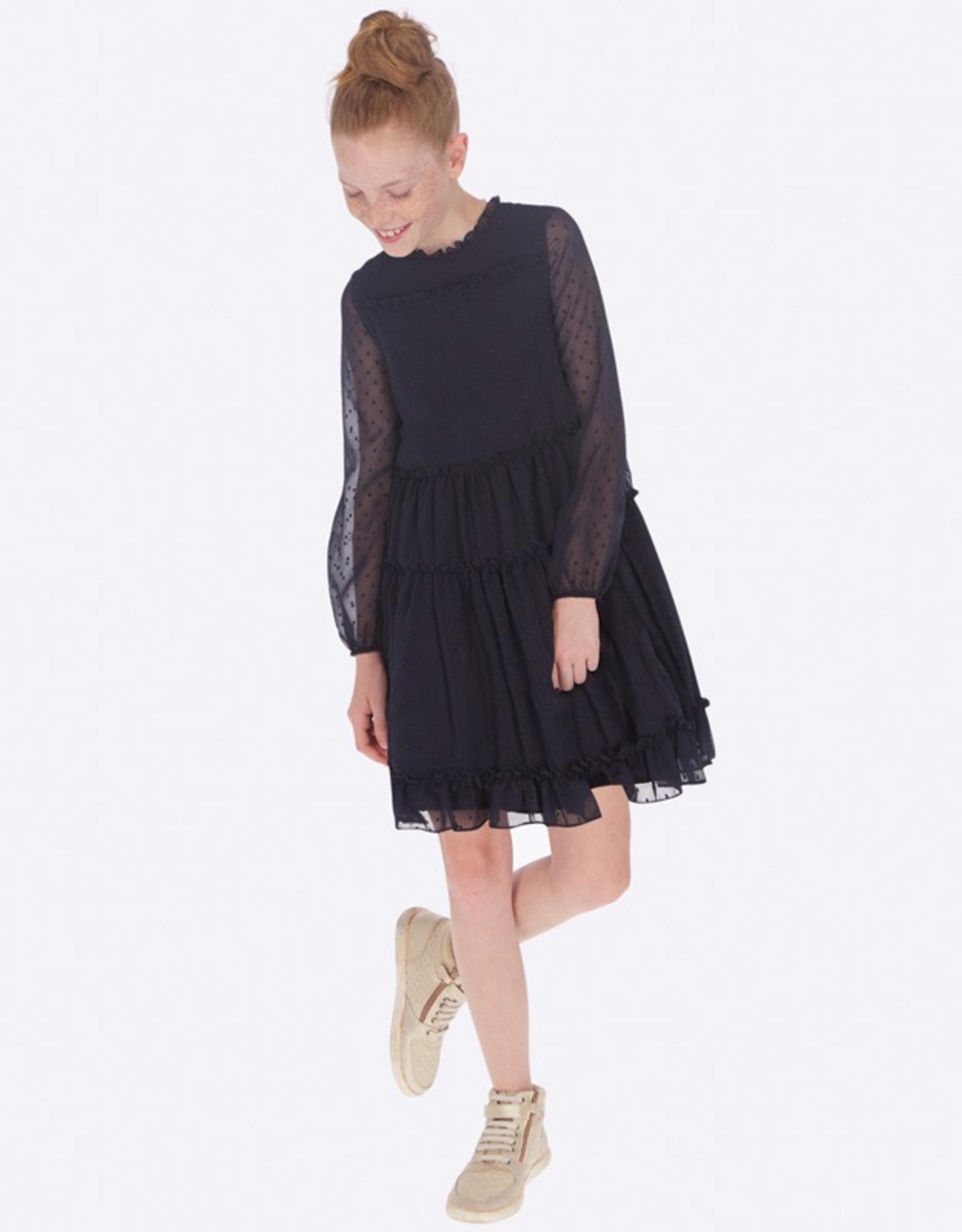 Mayoral Printed Dress for Girl