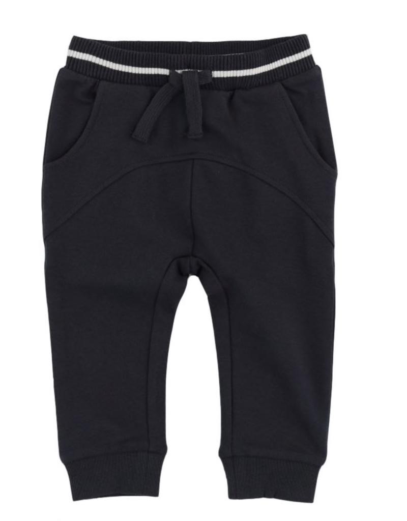 Long Sleeve knit Ski T-Shirt for Boy in Dark Grey