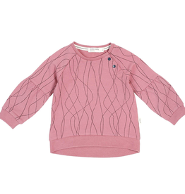 Knit Sweatshirt for Baby Girl in Pink
