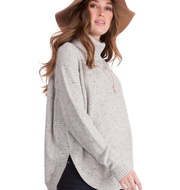 Seraphine Alma Textured Knit Cape Maternity Sweater