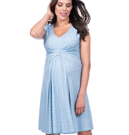 Seraphine Auburn Empire Detail Maternity Dress