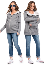Seraphine Connor: 3-In-1 Active Hoodie in Grey Marl