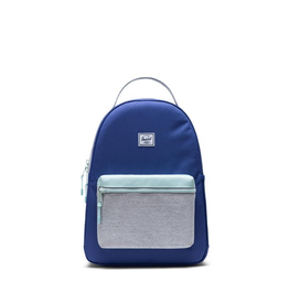Herschel Supply Co. Nova Backpack, Youth, 20L, Orient Blue/Light Grey Crosshatch/Eggshell Blue