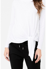 Ripe Maternity Side Tie Knot Top