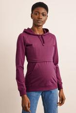Boob Design B-Warmer Nursing Hoodie in Purple
