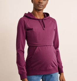 Boob Design B-Warmer Nursing Hoodie in Purple