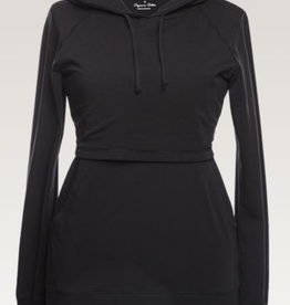 Boob Design B-Warmer Nursing Hoodie in Black