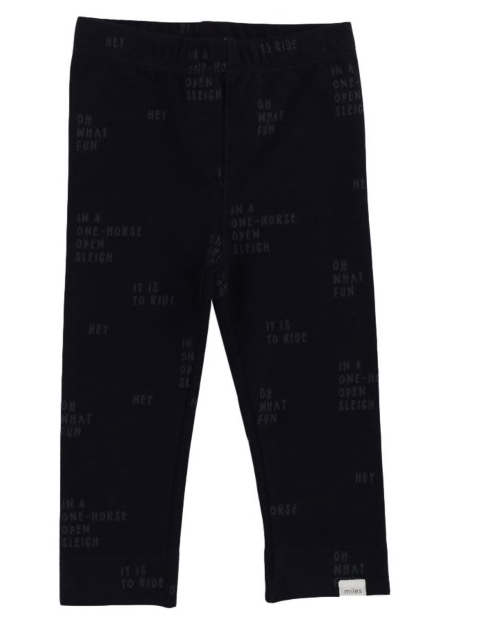 Heather Knnit Jogger Pant for Boy in Dark Blue