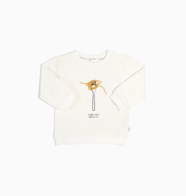 """Fork-Get About It"" Crewneck Sweatshirt for Baby"