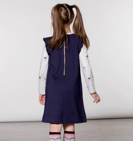 Deux Par Deux Milano Overall Jumper Dress for Girl