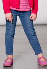 Deux Par Deux Blue Warm Jeggings for Girl