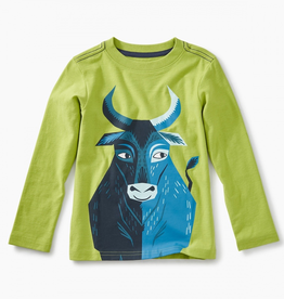 Tea Collection Big Blue Ox Graphic Tee for Boy