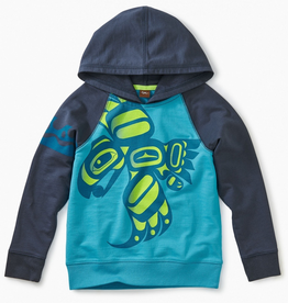 Tea Collection Raven Graphic Hoodie for Boy