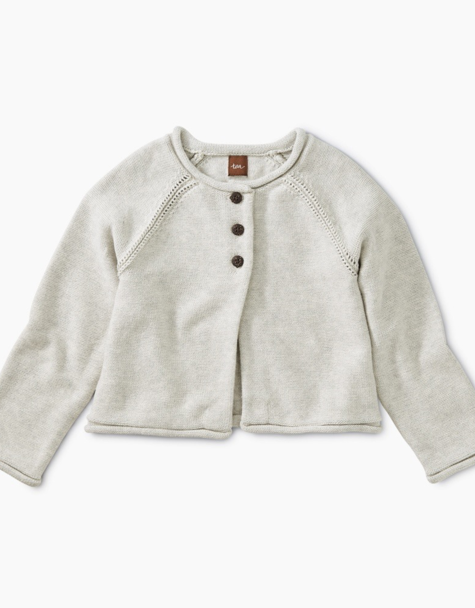 Tea Collection Solid Raglan Sweater Cardigan for Girl