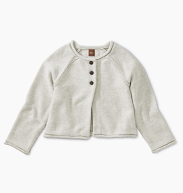 Tea Collection Solid Raglan Sweater Cardigan for Girl