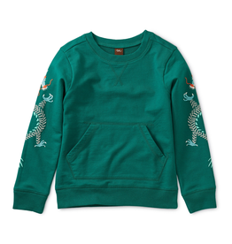 Tea Collection Dueling Dragons Graphic Popover for Boy