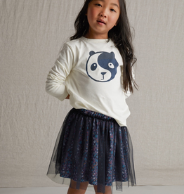 Tea Collection Yin Yang Panda Graphic Tee for Girl