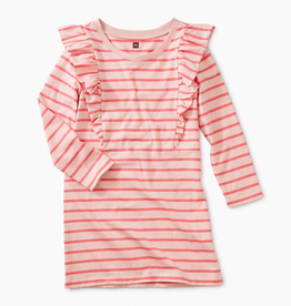 Tea Collection Striped Ruffle Dress for Girl