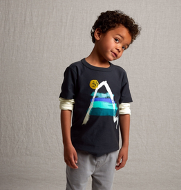 Tea Collection Painted Everest Graphic Layered Tee for Boy