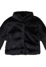Deux Par Deux Chic Faux Fur Jacket