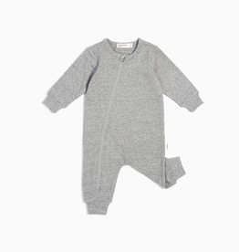"""Miles Basic"" Heather Grey Playsuit for Baby"