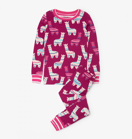 Hatley Adorable Alpacas Organic Cotton Pajama Set for Girl