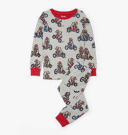 Hatley Biking Bears Organic Cotton Pajama Set for Boy