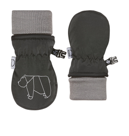 Kombi The Baby Animal Foldable Cuff Infants Mittens